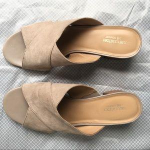 Naturalizer suede sandals